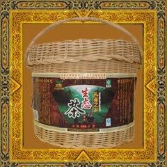 Té negro (de embalaje de regalo-- Cesta de bambú)