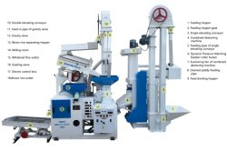 Sunfield 15tpd Mini Rice Processing Soring Destoner Mill Machine سعر بادى ميلينغ