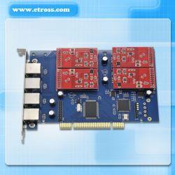 TDM410pのアナログの声電話カード4 FXS/FXOのアスタリスクPCIのカード