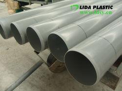 Водоотводящие UPVC орошения химического вентиляционной трубы ПВХ трубы большого диаметра Wirh