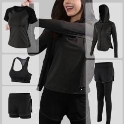 مصنع أزياء جديد للبيع الساخنة في مصنع أزياء يوفر اليوجا التجفيف السريع رياضات يرتدي سيدة لياقة
