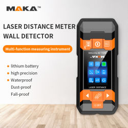 FDA Intertek CE RoHS FCC Maka Mk2101d 多機能レーザー距離 壁検出器付きメーターをプロモーションに使用します