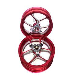 عجلات Supermotto أمامية معدلة عجلات Rims الآلية عجلات
