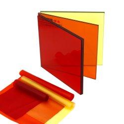 착색된 박판으로 만들어진 유리 PVB 필름 Interlayer 0.38mm 100% 신선한 수지