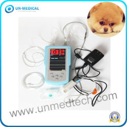 Ordinateur de poche vétérinaire des animaux de moniteur de SpO2 Etco2