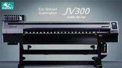 Gebruikte Mimaki Jv300-160 1.6m Oplosmiddel Eco en de Printer van de Sublimatie met Dx7 Hoofd
