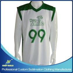 Tee-shirts personnalisés fait sur mesure sublimé de basket-ball