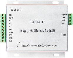 Изолированный Can Single-Port для сети Ethernet каталитического нейтрализатора (CANET-I) , для шины Can преобразователь Ethernet для шины Can Шлюз Ethernet для шины Can Мост Ethernet