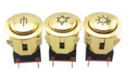 PB1-40-J オーブンロータリ電源スイッチキッチンアプライアンス回転スイッチ