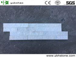 Китайский Белый Quartzite Slate стек камня культуры камня для внутреннего и наружного настенные панели/шпона угловой стойки