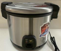 Het elektrische Kooktoestel van de Rijst met het Lichaam van het Roestvrij staal 7L