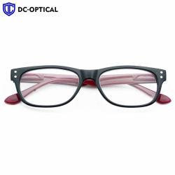 Показания в стиле ретро очки AC объектив красный черный пластиковый Freams легкий считывающее устройство чтения очки