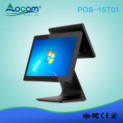 O Windows/Android Market 15.6 polegadas em um só sistema POS Terminal POS da Tela de Toque