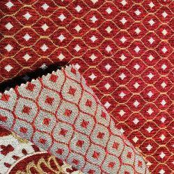 Пользовательский шаблон обивка ткань из микроволокна из жаккардовой ткани Chenille диван ткани для диван мебель
