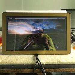 Monitor Touch Screen da 15 Pollici IPS LCD ad alta luminosità Raspberry Pi in colori gialli per i casinò