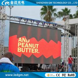 Schermo a LED per noleggio tavole da esterno 3900Hz (P3.9/P4.8/P5.95/P6.25 (500*500mm/500*1000mm pannello di noleggio ad installazione rapida)