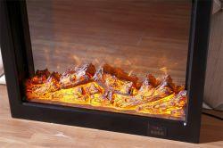 Интеллектуальный пульт дистанционного управления 3D декор огонь LED декоративные вставки встраиваемый в стену электрический камин