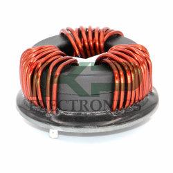 Toroidales personalizada Nanocrystalline Core 3 bobinas de inductor de modo común de la fase