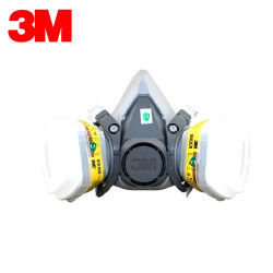 6200+6003 respirateur cartouche de gaz acide organique masque facial