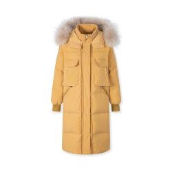 Nouveau design se garder au chaud Mesdames Femmes imitation d'hiver en laine Manteau de fourrure