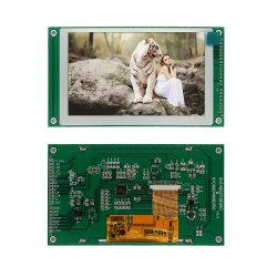 Alta visualizzazione dell'affissione a cristalli liquidi di pollice TFT del modulo di interfaccia seriale di Pin Spi dello schermo di tocco di risposta 480rgbx272 TFT 8/14 5
