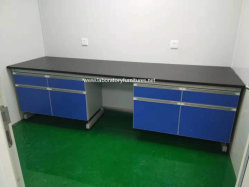 Madera y acero de mobiliario de laboratorio con la certificación CE procesados por el alemán Facility (JH-WF066)