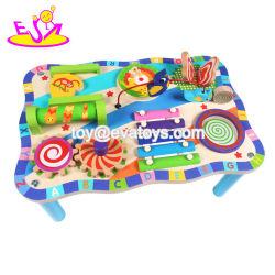 La llegada Multi-Fnction nuevo juguete de madera tabla Actividad para niños W12D153.
