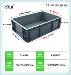 Boîte de roulement en plastique pour le stockage, boîte en plastique standard de l'UE à des fins diverses
