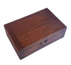 personalizado gravado modernas garrafas duplo de madeira sólida caixa de Vinho Madeira