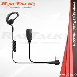 G forme écouteur avec petite boutonnière pour Motorola PTT DEP450