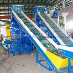 Bouteille d'eau Pet usine de recyclage de lavage