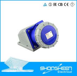 Zoccolo industriale di estensione della spina 4holes IP67 dell'aria resistente all'intemperie di potere dell'UPS