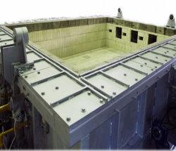 BS 476 Horizontale Het Testen van Bouwmaterialen Apparatuur om Component Te bouwen