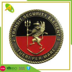Мода украшения Custom цинка металлического сплава мягкий /жесткий эмаль медали эмблемы подарки (110)
