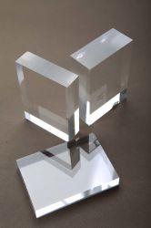 Campo Adverting direto de fábrica 2,5mm 3mm expressos a folha de acrílico transparente de corte a laser
