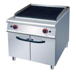 تصنيف أدوات المطبخ والمعدات Gas Lava Rock Grill مع مجلس الوزراء