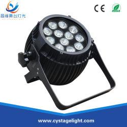 12ПК*12W RGBWA+УФ 6в1 для использования вне помещений Водонепроницаемый светодиодный PAR может