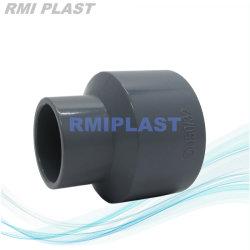 Tubo de plástico el montaje del reductor de CPVC