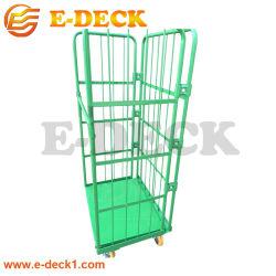 Revêtement en poudre Cage pliable Wire Mesh panier de la cage de stockage