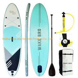 2021 Commercio all'ingrosso OEM Cheap Inflatable SUP Paddle Board Surfboard