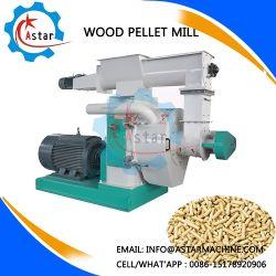 Totalmente automático de pellets de madera de línea de maquinaria maquinaria de producción de pelets de hierba
