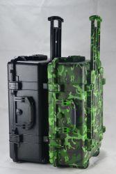 لون عسكريّة يستعصي تجهيز أمان حالة مع عجلات