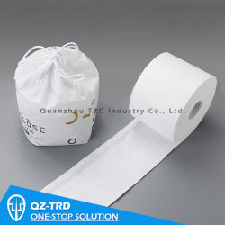 Многоразовый бумажного рулона Spunlace Non-Woven ткань влажных салфеток туалетной бумаги хлопковой ткани полотенце