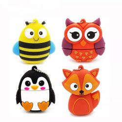 Cute Penguin Owl Fox Cartoon lecteur Flash USB pendrive 4Go/8 GB/16GB/32GB/64 Go de don d'enseignants de lecteur Flash USB