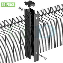 High Security DD Fence 358 반등반인 펜스 for Public 산업 공항 상업 지역 감옥을 가둡니다