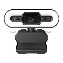 De nouvelles arrivent de l'Autofocus Webcam avec microphone numérique 4K 2K USB PC Camera avec voyant LED