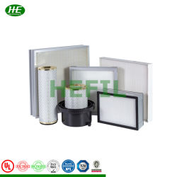 H13, H14, U15, U16, U17 Mini Pleat HEPA Filter für Laminar Flow Schrank, Labor, Reinräume