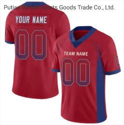 Patrón bordado personalizado cose ropa deportiva camisetas de fútbol