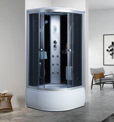 위생적인 욕실의 스위트 샤워 룸 스팀 목욕 샤워 헤드 객실