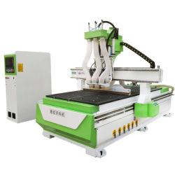 2030年の木工業自動3プロセス頑丈なCNCのルーター機械